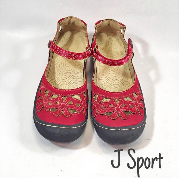 Jambu Shoes - Jambu Red Faux Leather Mary Janes